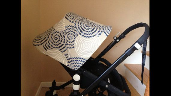 Replacement custom canopy or hood for bugaboo strollers. Cameleon, Cameleon3, frog, donkey.