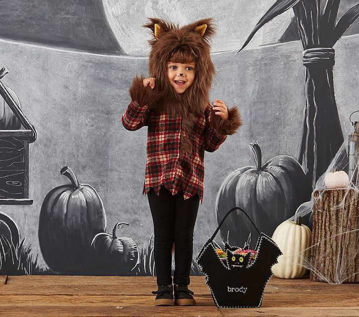 Pin for Later: 169 Warm Halloween Costume Ideas That Won't Leave Your Kids Freezing Werewolf Costume Pottery Barn Kids Werewolf Costume ($59)