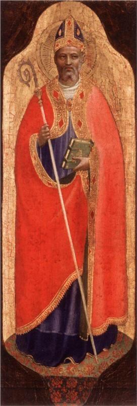 Fra Angelico, St. Nicholas of Bari, c. 1424