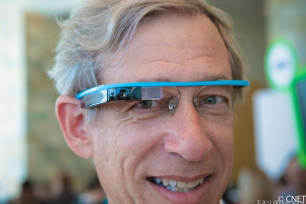 Google's Project Glass got more real today when Google showed off its prototype Google Glass Explorer Edition at the Google I/O conference.