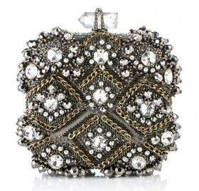 Marchesa this reminds me of the bags my gramma had~