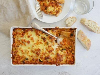 Chicken and Macaroni Bake recipe