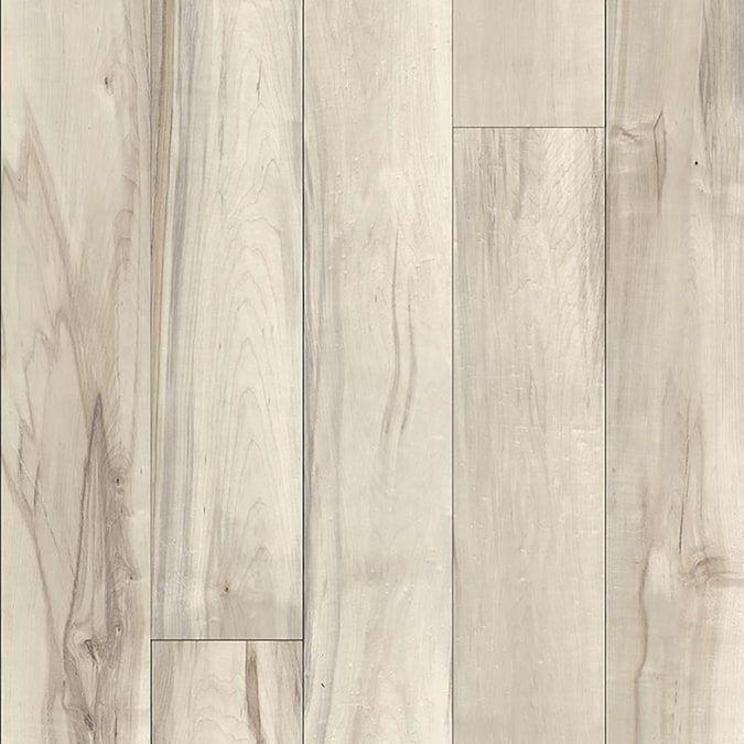 Allen Roth Baldwin Maple 7 55 In W X 4 22 Ft L Embossed Wood Plank Laminate Flooring Lowes Com In 2020 Laminate Flooring Maple Laminate Flooring Allen Roth
