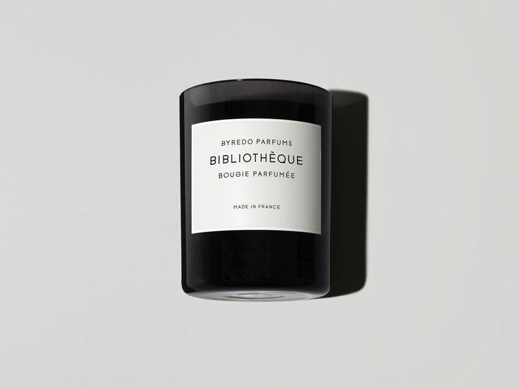 Bibliothèque Fragranced Candle - Byredo Parfums Online Store