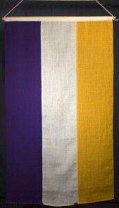 The National Woman's Party And the Meaning Behind Their Purple, White, and Gold Textiles | National Woman's Party
