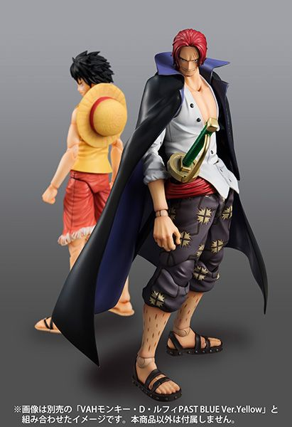 Variable Action Heroes - Luffy - Past Blues Ver. - Shanks