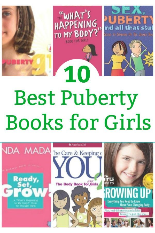 The Best Puberty Books for Girls | Kitchen Counter Chronicles Posts