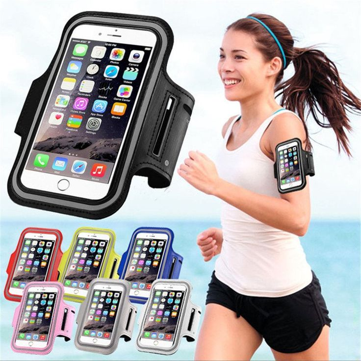 Waterproof PU Sports Running Armband Phone Case Holder Pouch For iPhone,  - Avenue Of Angels