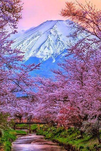 Mont Fuji, au Japon