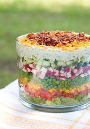 Layered Salad | Recipes