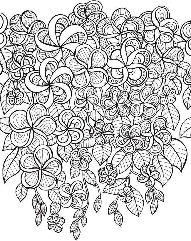 Welcome to Dover Publications Keep Calm and Color -- Gardens of Delight Coloring Book