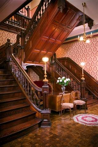 Historic Victorian Staircase Architecture Pinterest