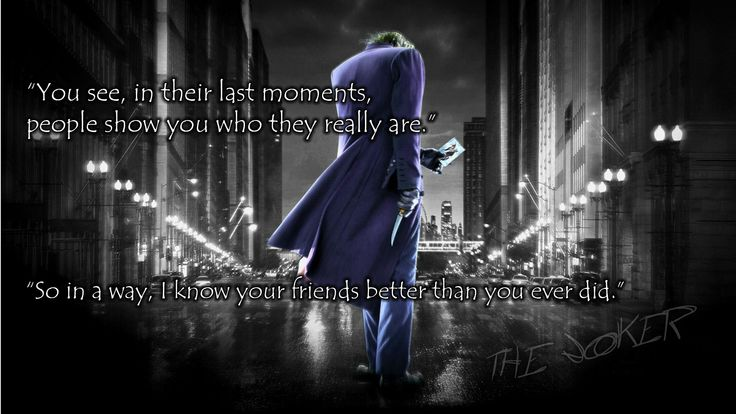 The Dark Knight Quotes: 17 Best Images About The Joker On Pinterest