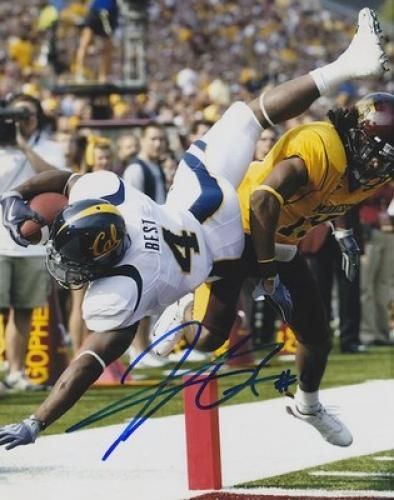 Jahvid Best Signed California Golden Bears 8x10 Photo - Sports Memorabilia