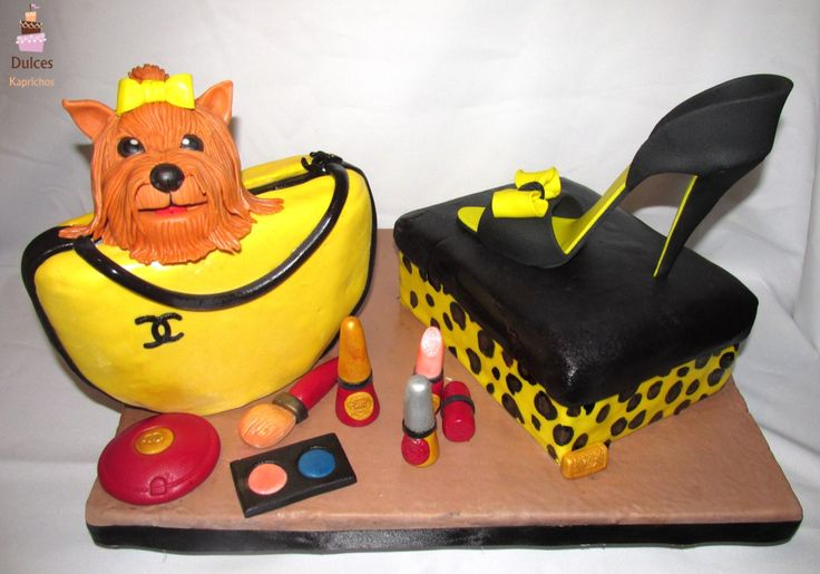 Torta Cartera  #TortaCartera #TortaZapato #TortasDecoradas #DulcesKaprichos