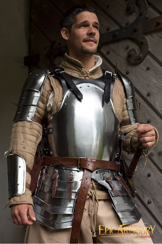 Black Mercenary Armor