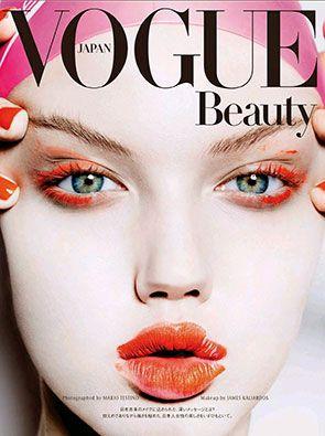 Vogue Japan November 2014 - Lindsey Wixson by Mario Testino