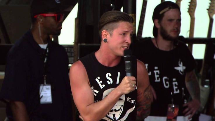 Breathe Carolina Live 2014 Vans Warped Tour Webcast Second Song