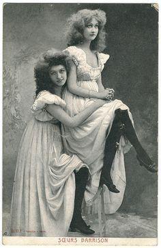 Gertrude and her sister Inger.