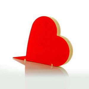 Homelove Fermaporta Love Rosso