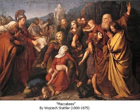 maccabees  bible images | Daily Bible Study - Antiochus And The Maccabees