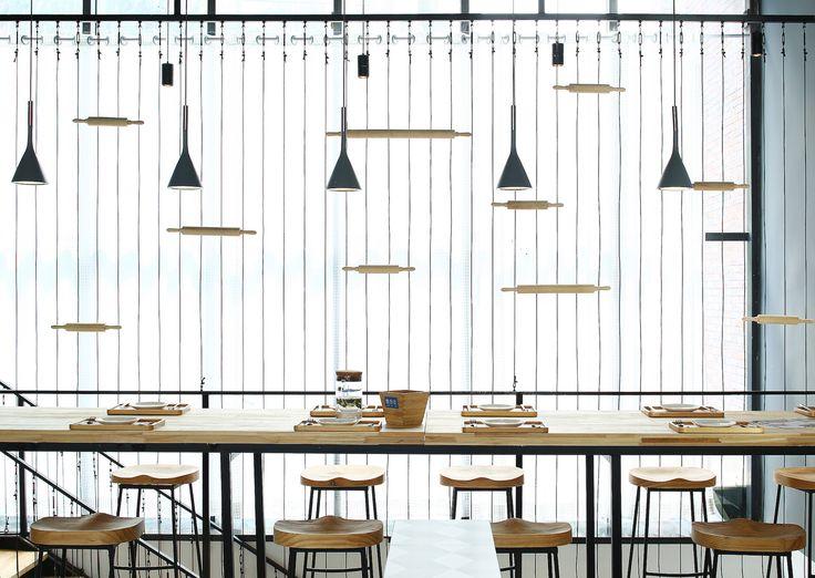 Gallery of Beauty Free Baking Restaurants / ZONES DESIGN - 13