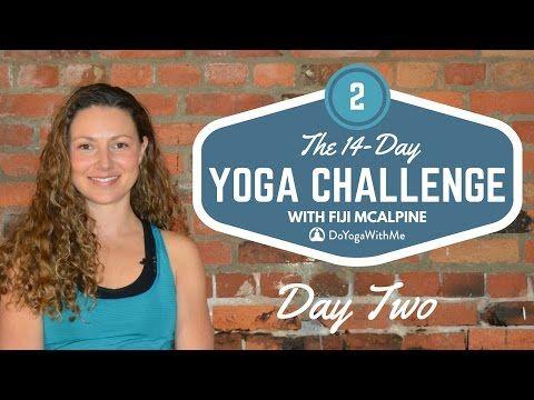 30 mins - 14-Day Yoga Challenge with Fiji McAlpine: Day Two - YouTube