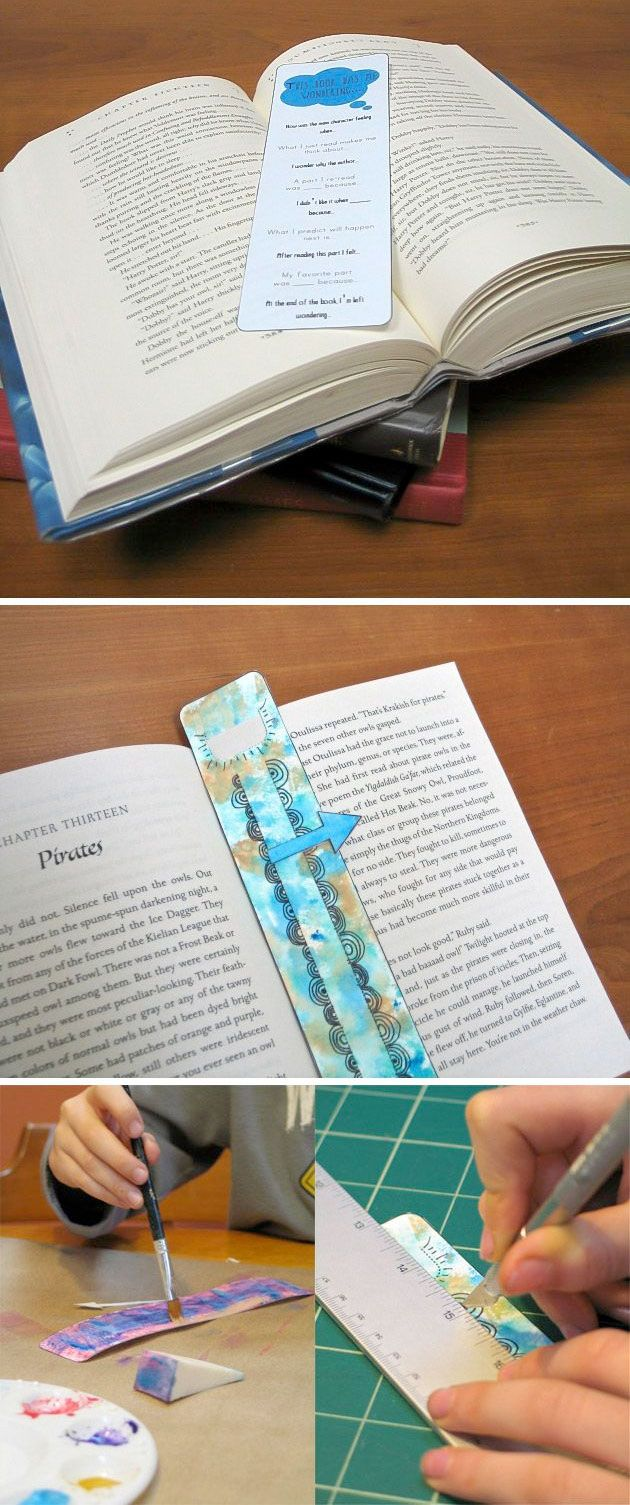 {Custom Bookmark Printables} *to inspire the young readers