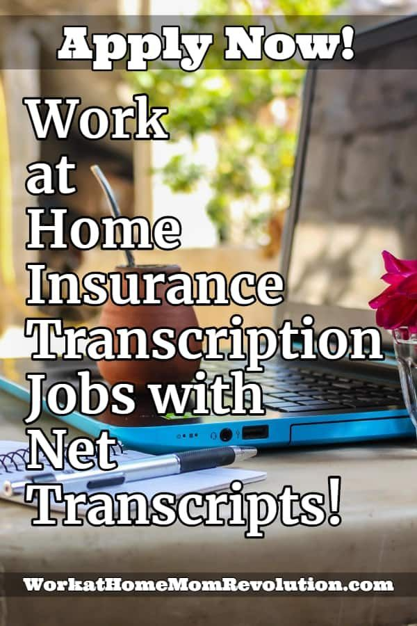 Work At Home Insurance Transcription Jobs With Net Transcripts