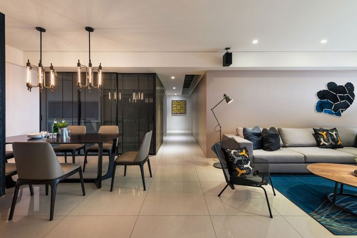 Element Apartment by White Interior Design