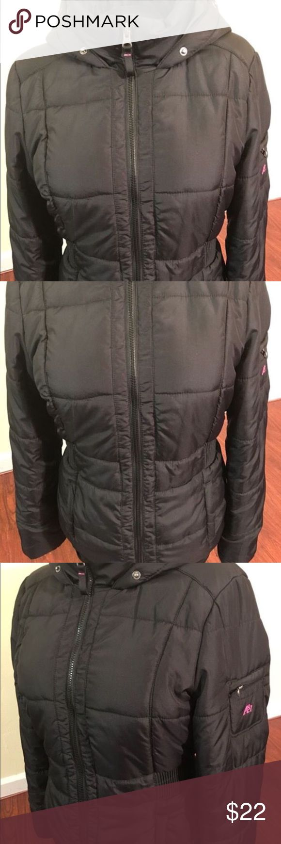 Aeropostale Woman's XLarge Insulated Hooded Jacket Aeropostale Woman's XLarge Insulated Hooded Jacket, Like New condition, missing hood fur. Retail $89 Aeropostale Jackets & Coats Puffers