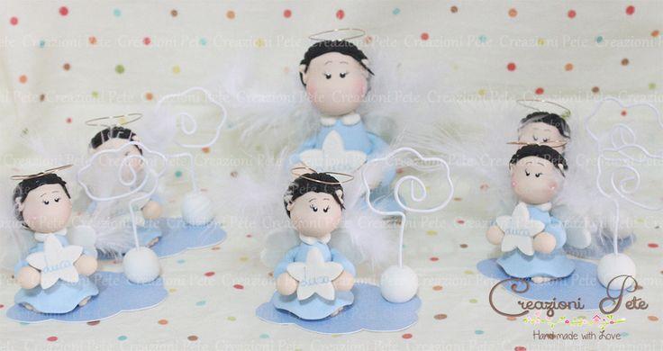 Angel favor baby boy  Baby shower favor for boy   Italian Favors, Baby shower gift,