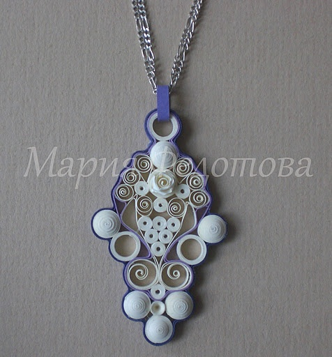 #papercraft #quilling #jewelry