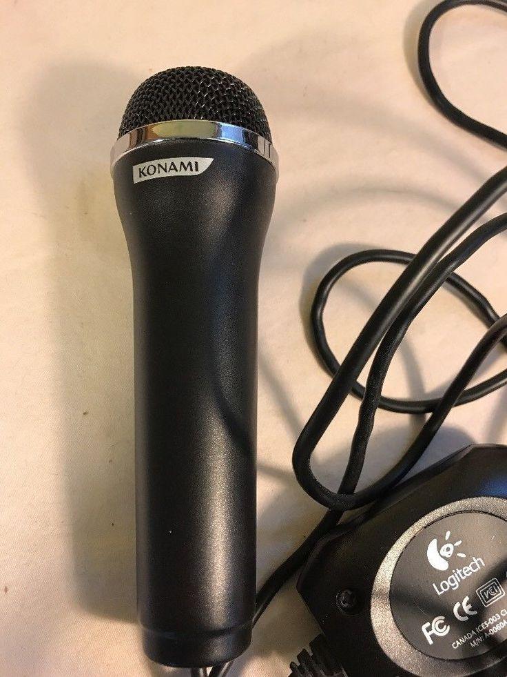 Konami USB Microphone All Gaming Systems and PC Rock Band wii-U Skype #Konami