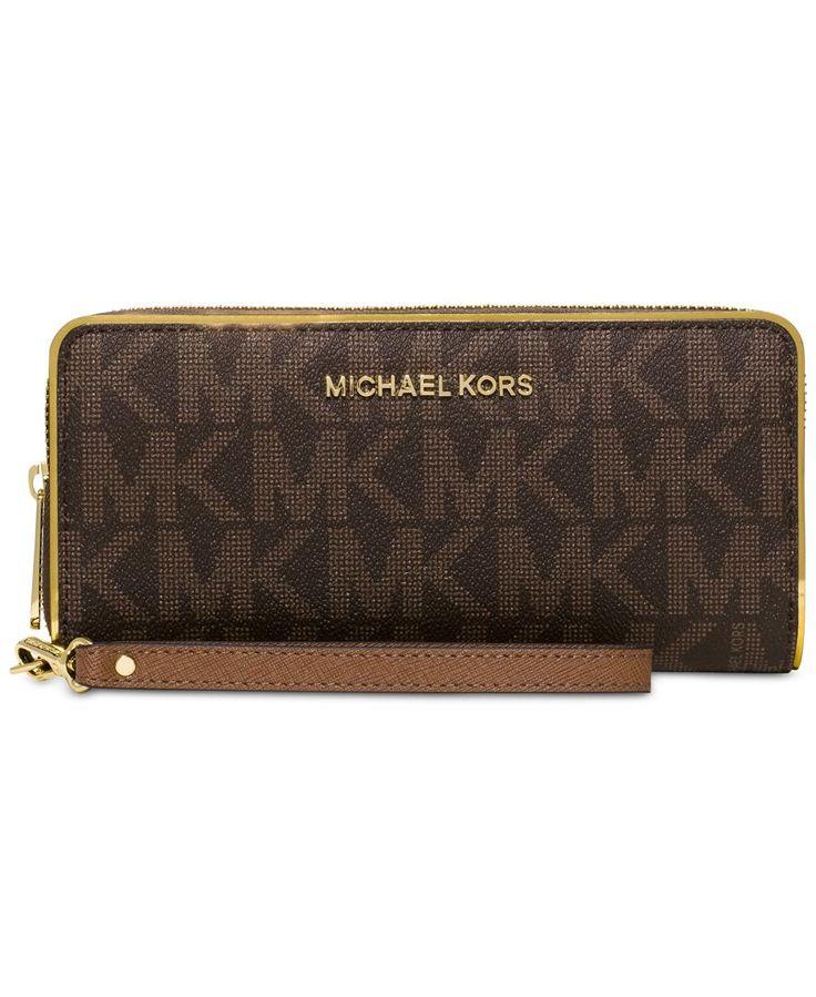 Michael Michael Kors Travel Specchio Continental Wallet