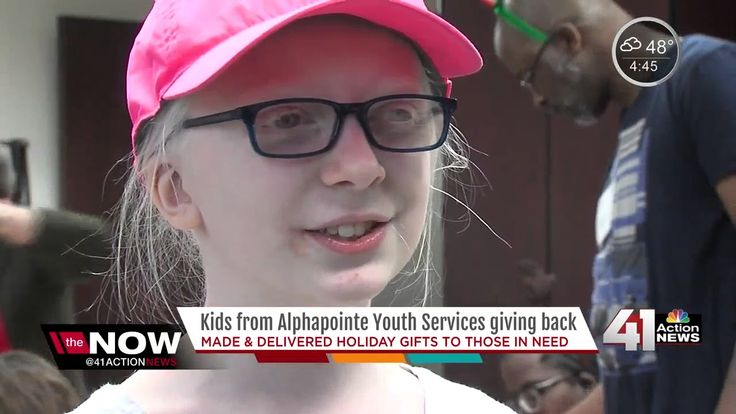 cool Kids who are visually impaired bake cookies, make gifts for homeless in KC  Children at Alphapointeare getting ready for the holidays.This year,AlphapointeYouth Services,which is a group for people who are visually...