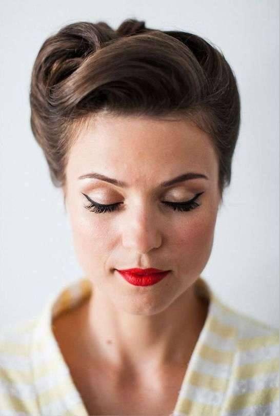 rockabilly hairstyles for short hair : hairstyles rockabilly hairstyles for short hair updo for short hair ...