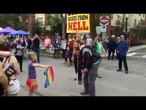VIDEO: Zea, The Ohio Girl Who Stood Up To A Homophobic Preacher, Is Everyone's New Hero