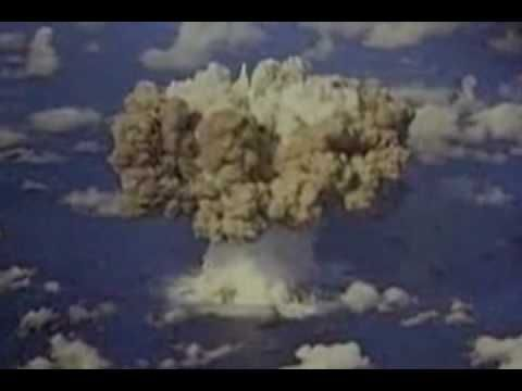 Underground, ground level, and atmospheric nuclear detonation footage. Flip it on mute and jam out! Goes with any music, really. Until about 4:20 on the video it's pretty cool stuff
