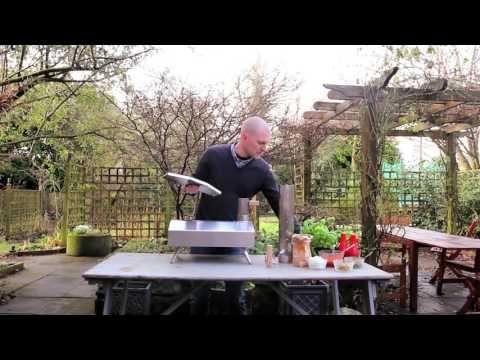 Uuni 2S Wood Fired Pizza Oven with stone base • GoCookOutdoors.com
