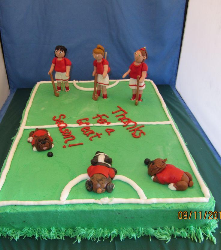 Field Hockey Cake Ideas