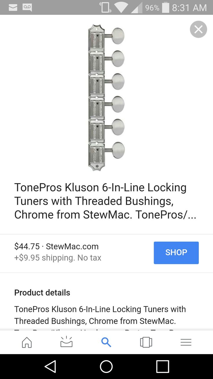 Nice set of locking tuners for the tele (gotoh or kluson?); the ones on it are pretty sloppy.. Maybe a nice smooth nut to go with them???