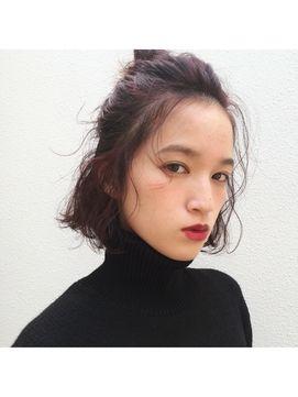 【2016年冬トレンド】cherry red×bob arrange/people 【ピープル】のヘアスタイル