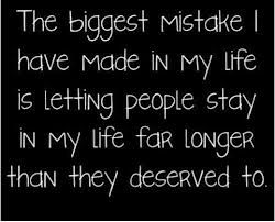 Forgiving someone for the same mistake over and over again is just being an enabler.