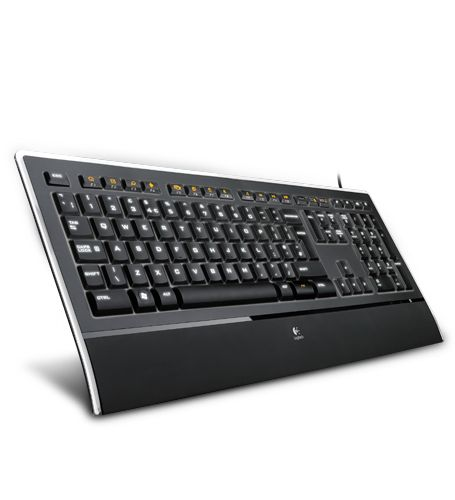 Logitech's Illuminated Keyboard is awesome if you type in dim lighting conditions ... as in the wee small hours of the morning ... and you don't want the lights on.