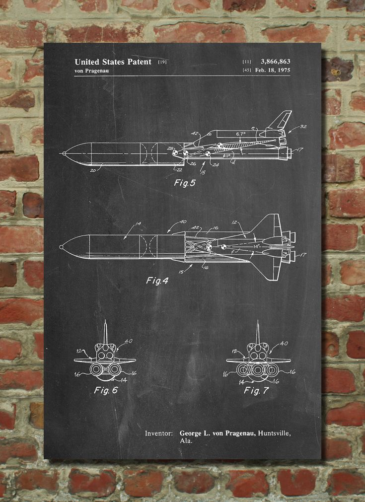 NASA Space Shuttle Enterprise Patent Poster, Outer Space, Space Art, Aerospace Engineer, Engineer Gift, Science Poster, Aviation Decor by PatentPrints on Etsy https://www.etsy.com/listing/226683890/nasa-space-shuttle-enterprise-patent