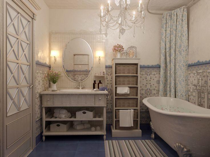ванная в стиле прованс - Поиск в Google