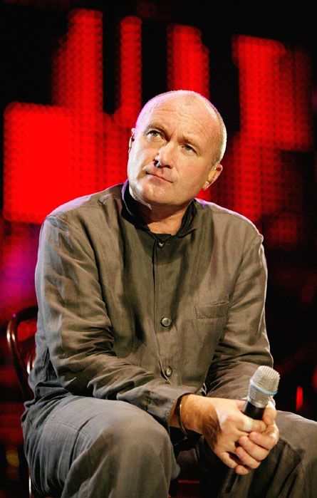 Phil Collins...saw him in concert with Genesis!!! Awesome show many years ago!!!