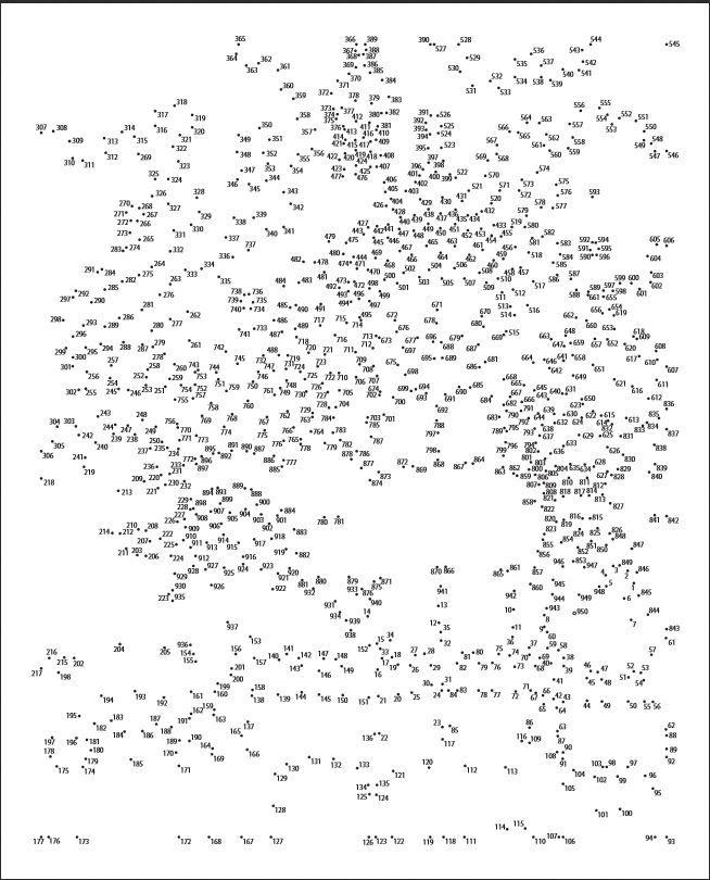 Hard Dot To Dots - 7   Game   Hard dot to dot, Dot to dot ...