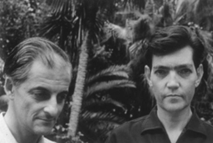 Manuel Antín y Julio Cortázar. Italia, 1962.